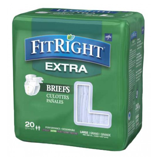 FitRight Extra Briefs - Heavy Absorbency