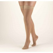 TRUFORM Women's LITES Thigh High Support Stockings 15-20 mmHg