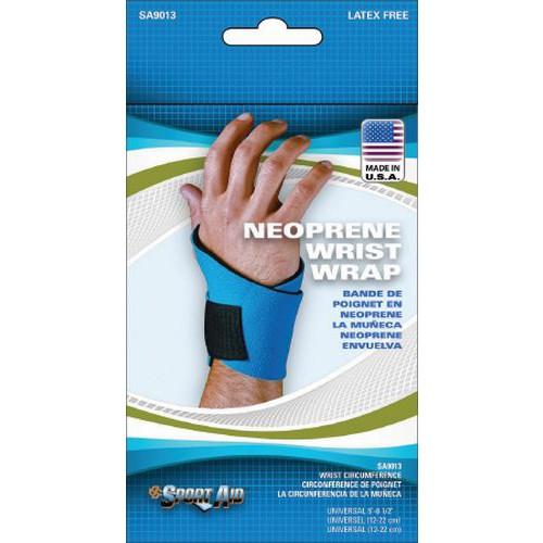 Sport-Aid Wraparound Neoprene Wrist Wrap