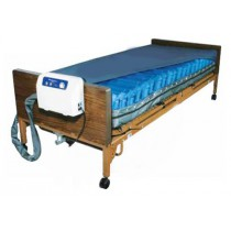 Med-Aire PLUS Alternating Pressure Air Mattress Overlay Low Air Loss System  36 x 80 x 8