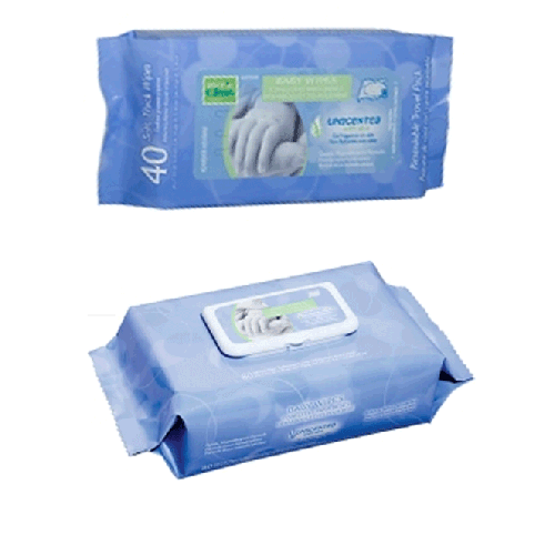 Nice N Clean Baby Wipes Unscented Professional