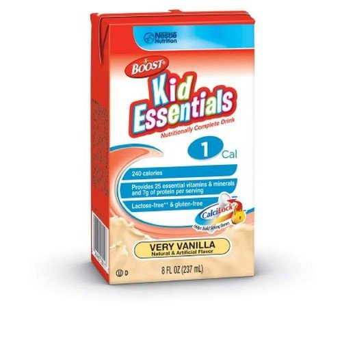 BOOST KID ESSENTIALS 1.0 French Vanilla - 8 oz