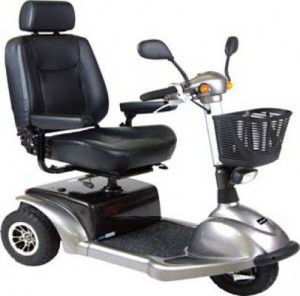 Drive Medical 3310 Prowler 3 Wheel Mobility Scooter