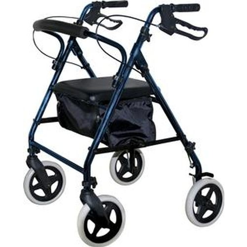 KD Rollator with Soft Seat