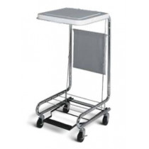 Medline MDS80529 Hamper Stand with Foot Pedal