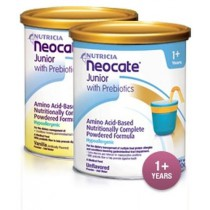 Neocate Junior with Prebiotics Unflavored - 400 gm