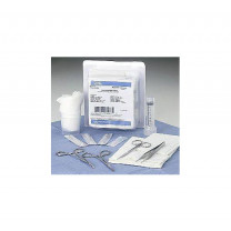 MAI Laceration Tray Kit with Sterile Instruments