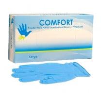 Comfort Nitrile 4 mil Exam Gloves - Powder Free