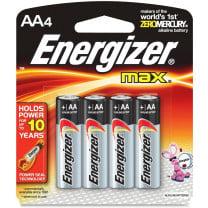 AA Energizer Max Batteries