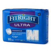 Medline Fitright Ultra Protective Underwear, Moderate Absorbency