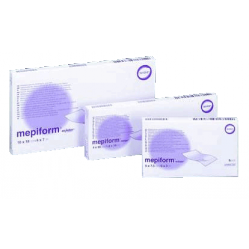 Mepiform Self Adherent Silicone Dressing