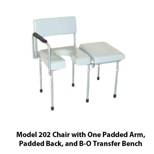 Activeaid 202 Max Aid Bathroom Assist Chair Commode