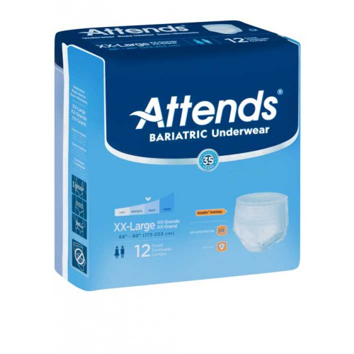 Attends Bariatric Underwear Heavy Absorbency