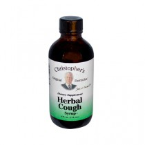 Christophers Herbal Cough Syrup Dietary Supplement