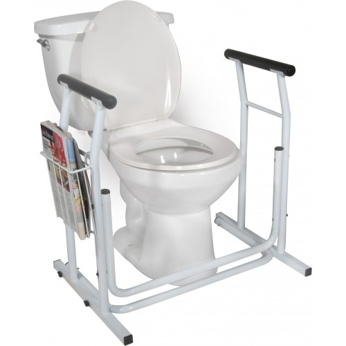 Toilet Safety Rail Stand Alone Style Rtl12079