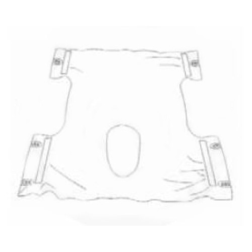 Large One Piece Commode Lift Sling
