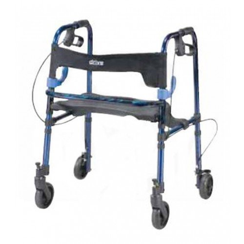 Clever Lite Rollator Walker Adult or Child size with 5 Inch Wheels