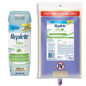 REPLETE Fiber 1 Cal Complete Very High Protein Liquid Nutrition