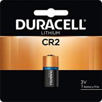 CR2 Duracell Coppertop Batteries