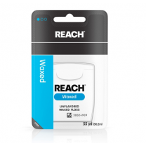Reach Waxed Floss, Unflavored, 55 Yards