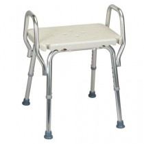 Eagle Health Shower Chair w/Arm Rests and Optional Backrest - 62221, 62231