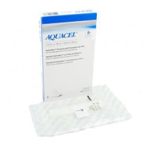 Aquacel Hydrofiber Dressing with Strengthening Fiber Packaging