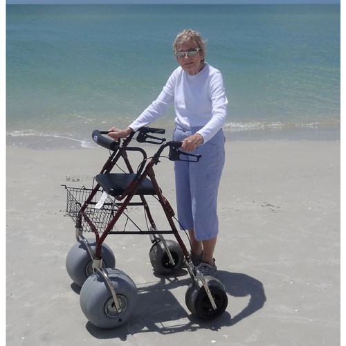 Aluminum Beach Walker