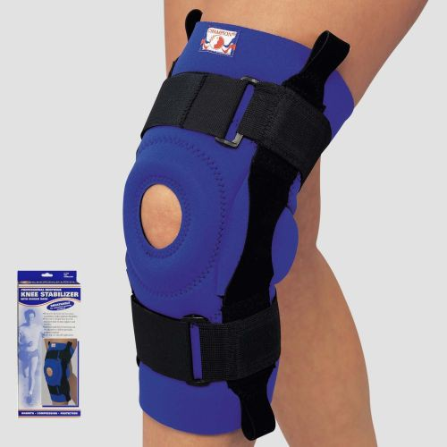 Neoprene Knee Stabilizer with Hinged Bars