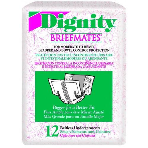 Dignity Briefmates Beltless Undergarments