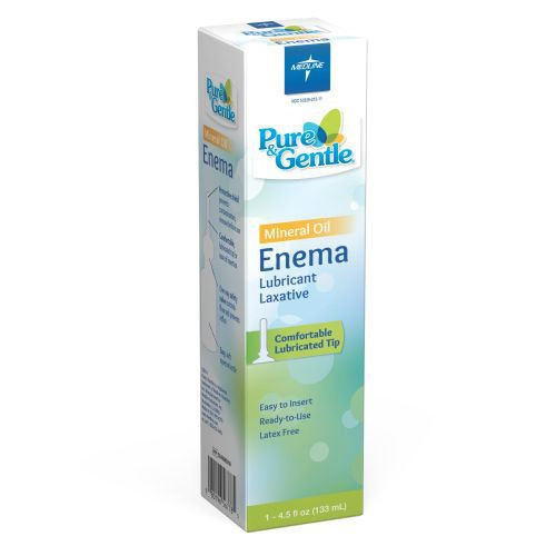 pure gentle disposable mineral oil enema 9b0