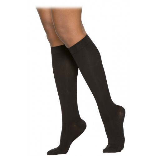 7e4521fdd Sigvaris 230 Cotton Series Women s Knee High Compression Socks - 233C CLOSED  TOE 30-40