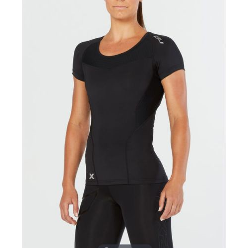 Base Compression Short Sleep Top, Black