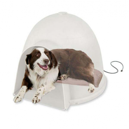 K&H Pet Products Lectro-Soft Igloo Style Bed and Cover