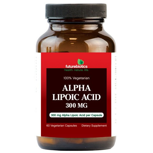 FutureBiotics Alpha Lipoic Acid 300 mg Dietary Supplement