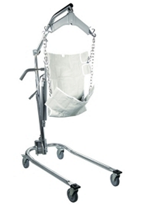Manual Hydraulic Deluxe Patient Lift With Four Point