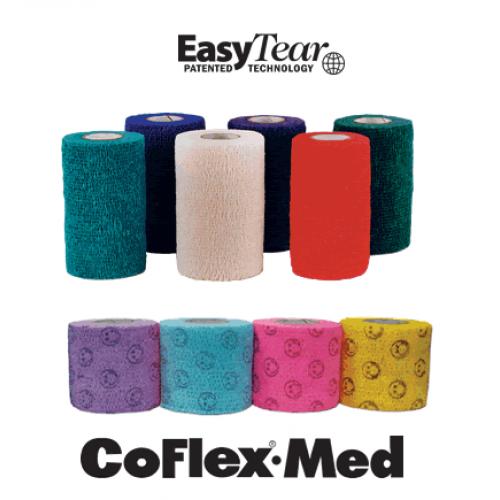 Andover COFLEX MED Easy Tear Non Sterile Elastic Tape