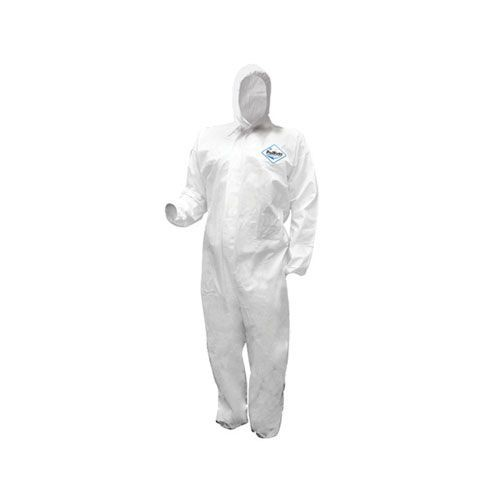 ProWorks Breathable Liquid & Particulate Coveralls, with Hood