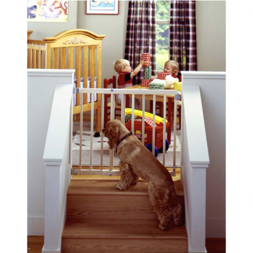 North States Stairway Swing Gate for Pets