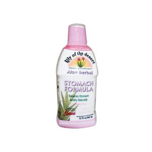 Lily of The Desert Aloe Herbal Fresh Mint Stomach Formula