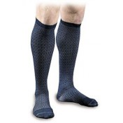 Activa Sheer Therapy Men's Herringbone Pattern Casual Compression Socks 15-20 mmHg