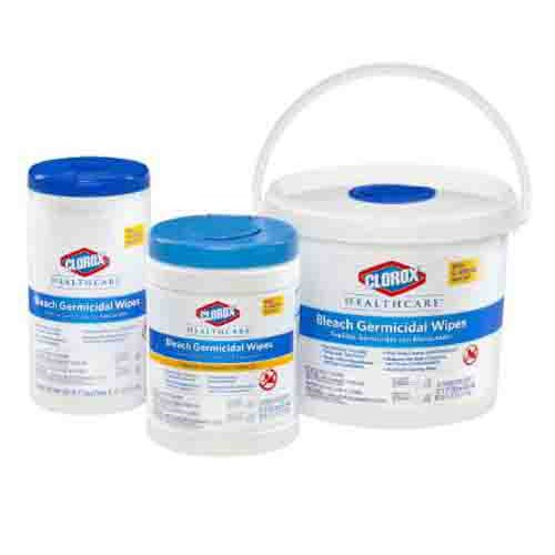 Clorox Healthcare Bleach Wipes
