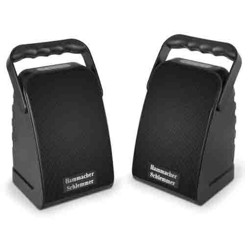 Rechargeable Long Range Wireless Stereo Speakers