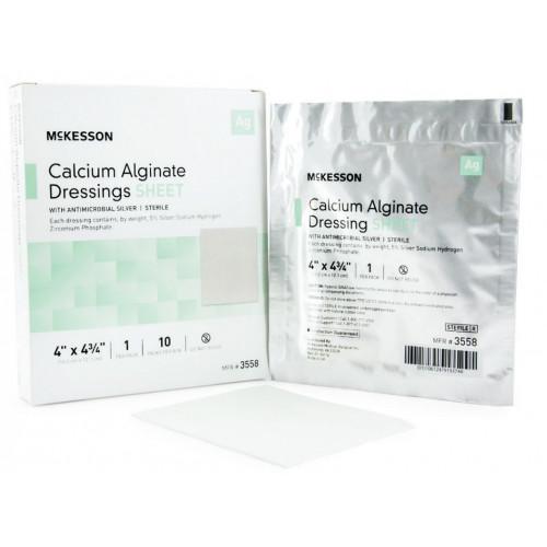 McKesson Calcium Alginate Wound Dressing with Silver