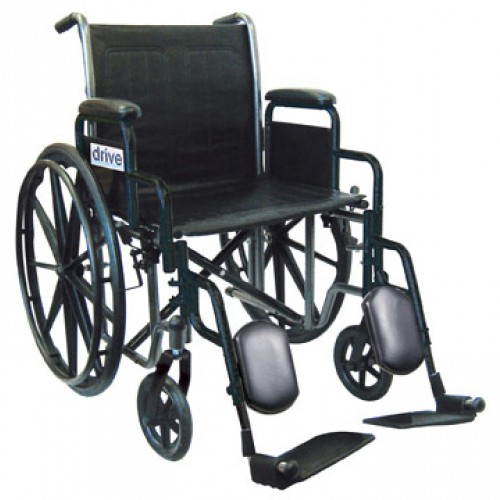 Silver Sport 2 Wheelchair with Various Arms Styles and Foot Rigging Options