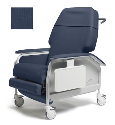 lumex extra wide clinical care geri chair recliner 3df