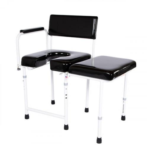 202 Rehab Shower/Commode Chair-Bath/Toilet Modular System