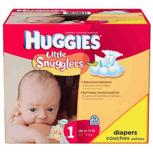 Huggies Little Snuggler Diapers