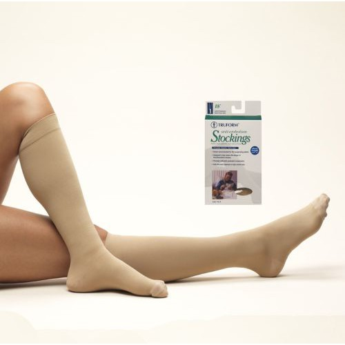 Anti-embolism Knee High Closed Toe - Short