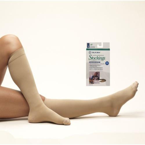 Anti-embolism Knee High Closed Toe - Short