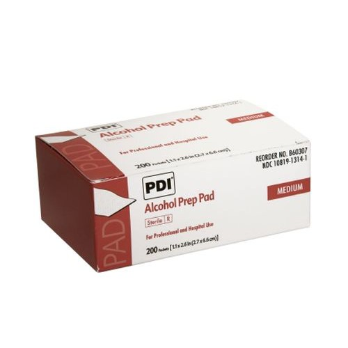 PDI Alcohol Prep Pad